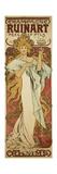 Champagne Ruinart, 1896 Reproduction procédé giclée par Alphonse Mucha