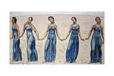 View to Infinity Giclee Print by Ferdinand Hodler