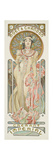 Moet and Chandon: Dry Imperial, 1899 Giclee-trykk av Alphonse Mucha