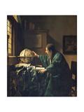 The Astronomer, 1668 Giclée-vedos tekijänä Johannes Vermeer