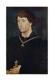 Portrait of Charles the Bold Reproduction procédé giclée par Rogier van der Weyden