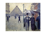 Paris, Rainy Day Giclee Print by Gustave Caillebotte