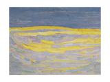 Lever du soleil Reproduction procédé giclée par Piet Mondrian