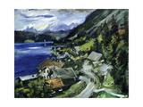 Walchensee, 1920 Gicléetryck av Lovis Corinth