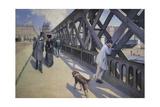 The Europe Bridge, 1876 Giclée-tryk af Gustave Caillebotte