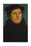 Portrait of Martin Luther as Professor Giclée-tryk af Lucas Cranach the Elder