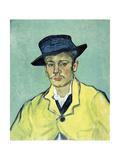 Portrait D'Armand Roulin, 1888 Giclée-tryk af Vincent van Gogh