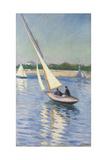 Sailing Boat at Argenteuil, 1893 Lámina giclée por Gustave Caillebotte