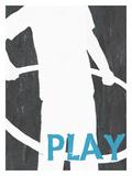 Play (Boy) Lámina giclée por Lisa Weedn