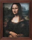 Mona Lisa (La Gioconda), c.1507 Kunst von  Leonardo da Vinci