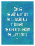 Conquer The Angry Man Impressão giclée por Lisa Weedn