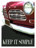 Keep It Simple Lámina giclée por Lisa Weedn