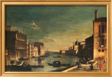Grand Canal Venice, Looking East Art by Francesco Fironi