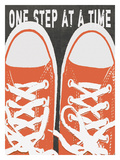 One Step At A Time Stampa giclée di Lisa Weedn