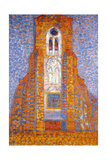 Church of Zoutelande, 1910 Impressão giclée por Piet Mondrian