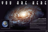 You Are Here - Space Photographie