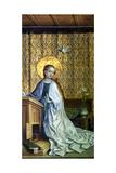 Altar of the Cologne Patron Saint, Annunciation to Mary, 1440-45 Reproduction procédé giclée par Suzanne Valadon