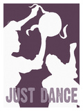 Just Dance (Violet) Stampa giclée di Lisa Weedn