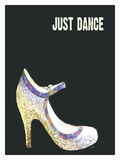 Just Dance (Shoe) Stampa giclée di Lisa Weedn