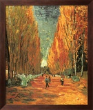 Allee des Alycamps Poster af Vincent van Gogh