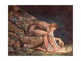 Isaak Newton, 1795 Lámina giclée por William Blake