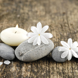 Zen Pebbles Photographic Print