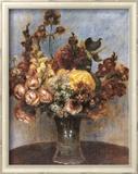 Ramo de Primavera Pósters por Pierre-Auguste Renoir