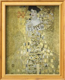 Adele Block Bauer Art by Gustav Klimt