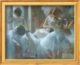 Dancers at Rest Plakater af Edgar Degas