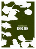 Remember To Breathe Stampa giclée di Lisa Weedn