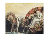 God Judging Adam, 1795 Lámina giclée por William Blake