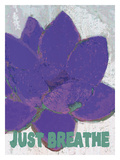 Just Breathe Stampa giclée di Lisa Weedn