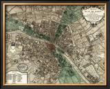 Plan de Paris Posters