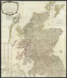 Composite: Scotland or North Britain, c.1790 Posters tekijänä Robert Campbell