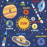 Space Explorer I Posters por Lesley Grainger