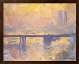 Charing Cross Bridge, c.1905 Plakater af Claude Monet
