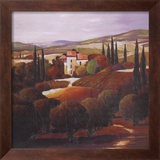 Villa in Tuscany Prints by Max Hayslette