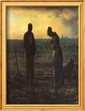 The Evening Prayer (L'Angélus), c.1859 Poster di Jean-François Millet