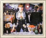 Bar at the Folies-Bergere, c.1882 Poster di Edouard Manet