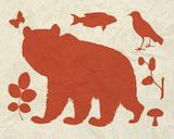 Woodland Creatures III Poster di Clara Wells