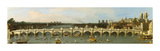 Westminster Bridge, London Impressão giclée premium por Antonio Canaletto