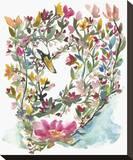 Mhala Hakucho (Swan) Stretched Canvas Print by Kiana Mosley