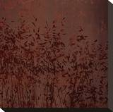 Marsala Tree III Stretched Canvas Print by Mali Nave