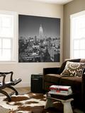 Empire State Building, New York City 2 Mural por Henri Silberman