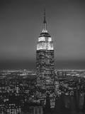 Empire State Building, New York City 3 Autocollant mural par Henri Silberman