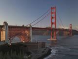 Golden Gate Bridge North View 2 Autocollant mural par Henri Silberman