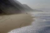 Funston Beach, San Francisco, Ca 2 Muursticker van Henri Silberman