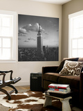 Empire State Building, New York City, Evening Mural por Henri Silberman