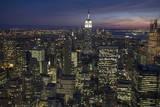 City Lights Veggoverføringsbilde av Henri Silberman