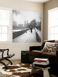 Bow Bridge Dogs, Central Park Mural por Henri Silberman